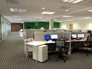 Office internet line and IP phone settings in Los Angeles